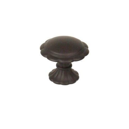 Century Hardware Fiori 1-3/8 Inch Diameter Oil Rubbed Bronze Cabinet Knob 27807-OB