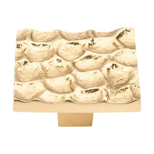 Top Knobs Cobblestone 1-15/16 Inch Diameter Brass Cabinet Knob TK302BR