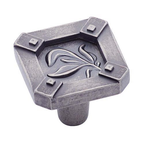 Amerock Ambrosia 1-1/4 Inch Diameter Weathered Nickel Cabinet Knob BP4468WN