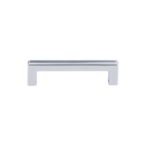 Top Knobs Transcend 3-3/4 Inch Center to Center Polished Chrome Cabinet Pull TK672PC
