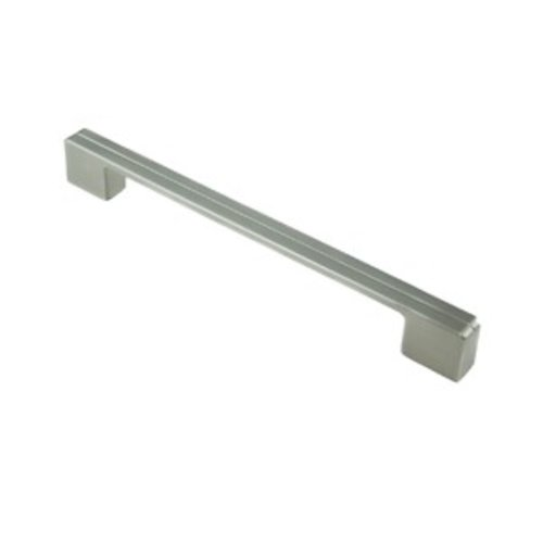 Berenson Skyline 8-13/16 Inch Center to Center Brushed Nickel Cabinet Pull 9206-1BPN-P