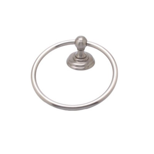 R. Christensen Towel Ring Brushed Nickel 2111US15