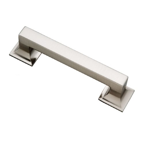 Hickory Hardware Studio 3-3/4 Inch Center to Center Stainless Steel Cabinet Pull P3011-SS