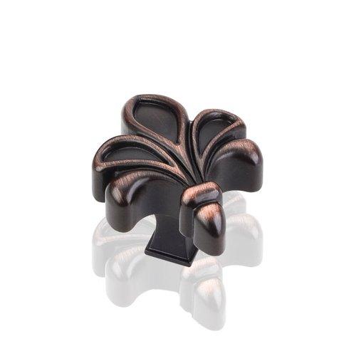 Jeffrey Alexander Evangeline 1-3/4 Inch Diameter Dark Brushed Antique Copper Cabinet Knob 925DBAC