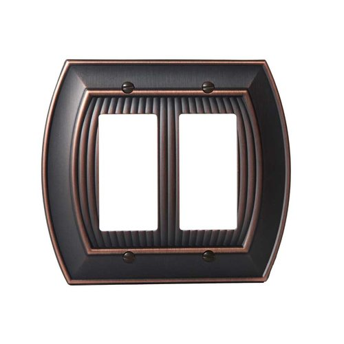 Amerock Allison Two Rocker Wall Plate Oil Rubbed Bronze BP36533ORB