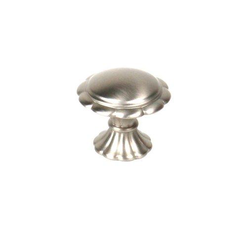 Century Hardware Fiori 1-3/8 Inch Diameter Dull Satin Nickel Cabinet Knob 27807-DSN