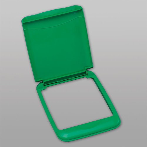Rev-A-Shelf Flip Up Lid For 35 Quart Container - Green RV-35-LID-G-1