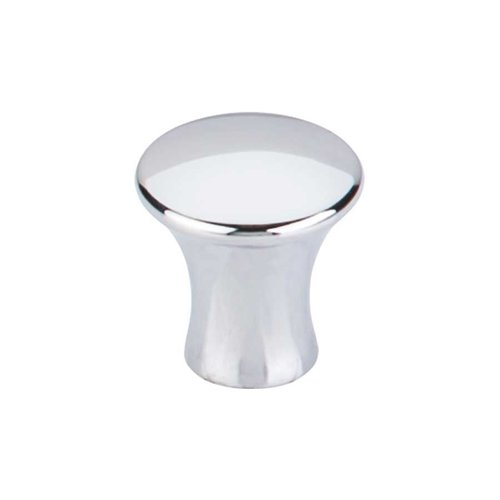 Top Knobs Mercer 7/8 Inch Diameter Polished Chrome Cabinet Knob TK590PC