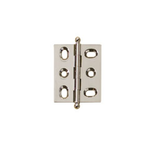 Elite Mortised Butt Hinge 50X40mm - Brushed Nickel <small>(#354.17.610)</small>