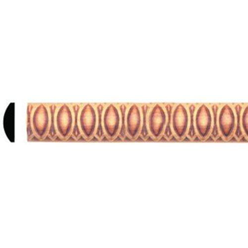 Omega National Products Style E039E2 Embossed Molding 8 feet Red Oak-4/Box E039E2960OUF8