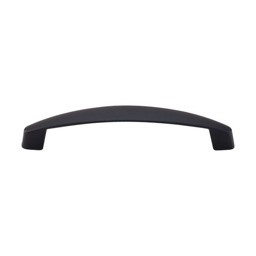 Top Knobs Nouveau III 5-1/16 Inch Center to Center Flat Black Cabinet Pull M1141