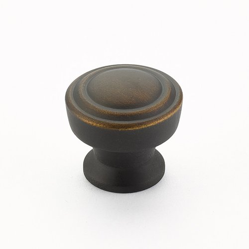 Schaub and Company Menlo Park 1-1/4 Inch Diameter Ancient Bronze Cabinet Knob 533-ABZ