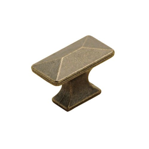Hickory Hardware Bungalow 1-1/4 Inch Length Windover Antique Cabinet Knob P2150-WOA