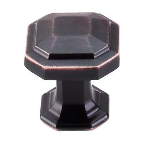 Top Knobs Chareau 1-1/8 Inch Diameter Tuscan Bronze Cabinet Knob TK286TB