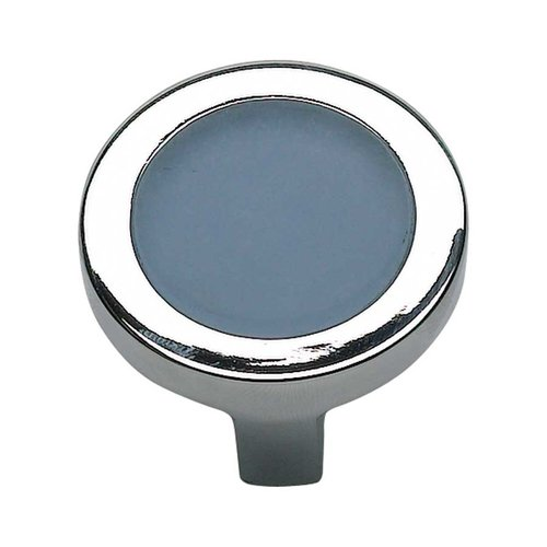 Atlas Homewares Spa 1-3/8 Inch Diameter Brushed Nickel Cabinet Knob 230-BLU-BRN