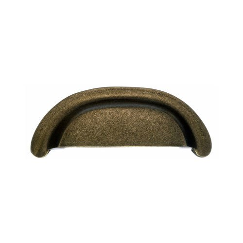 Top Knobs Aspen 3 Inch Center to Center Light Bronze Cabinet Cup Pull M1411