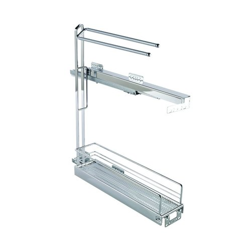 Kessebohmer Base Pullout With Towel Rail 90 Degree Chrome 545.61.262