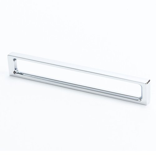 Dual 6-5/16 Inch Center to Center Polished Chrome Cabinet Pull <small>(#9306-1026-C)</small>
