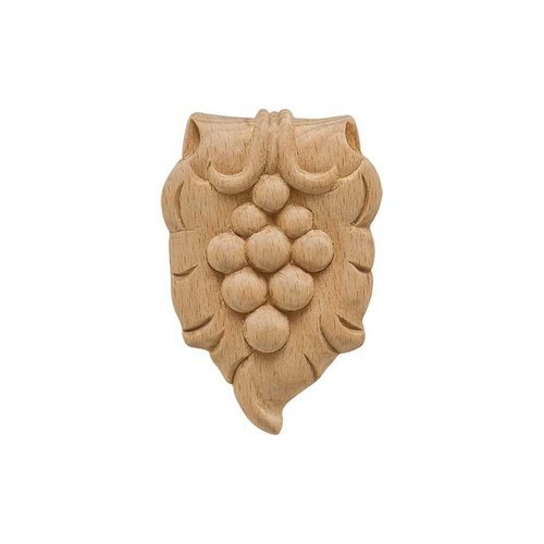 "Bordeaux Carved Onlay 2-5/16"" X 3-1/2"" Beech <small>(#194.78.363)</small>"