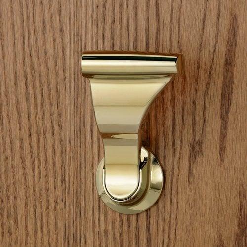 """Soss Closet UltraLatch for 1-3/8"""" Door Bright Brass LCLEX-3"""