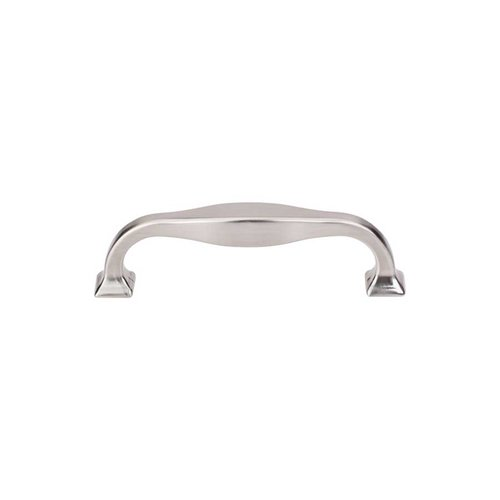 Top Knobs Transcend 3-3/4 Inch Center to Center Brushed Satin Nickel Cabinet Pull TK722BSN