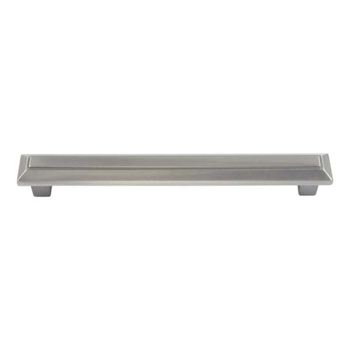 Atlas Homewares Trocadero 6-5/16 Inch Center to Center Pewter Cabinet Pull 284-P
