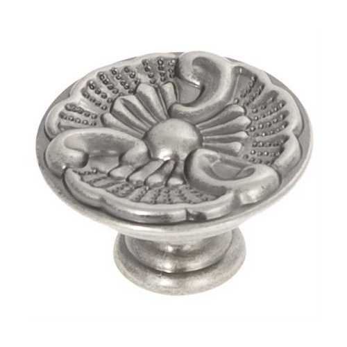 Hickory Hardware Manor House 1-5/16 Inch Diameter Silver Stone Cabinet Knob P8160-ST