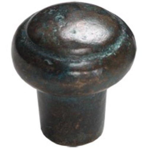 Schaub and Company Ovale 1-3/8 Inch Diameter Verde Imperiale Cabinet Knob 781-VI