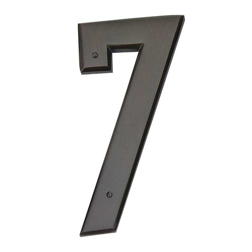 Atlas Homewares Mission House Number Seven Aged Bronze RCN7-O