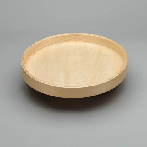 "Rev-A-Shelf Full Circle Single Shelf 18"" Diameter - Wood LD-4BW-001-18SB-1"