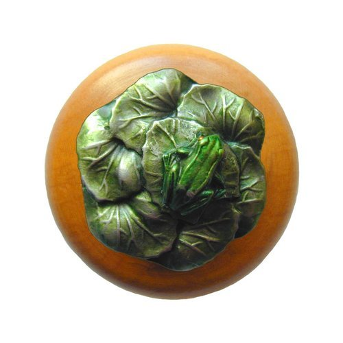 Notting Hill All Creatures 1-1/2 Inch Diameter Pewter Hand Tinted Cabinet Knob NHW-709M-PHT