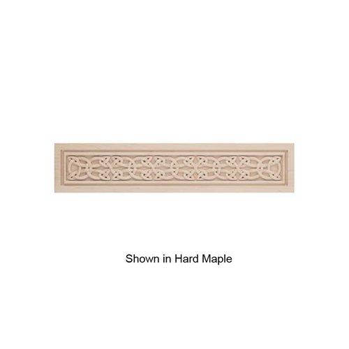 Brown Wood Medium Gaelic Framed Onlay Unfinished Walnut 01832228WL1
