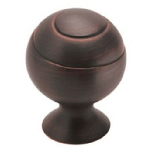 Swirl'Z 1-3/4 Inch Diameter Oil Rubbed Bronze Cabinet Knob <small>(#BP93382ORB)</small>