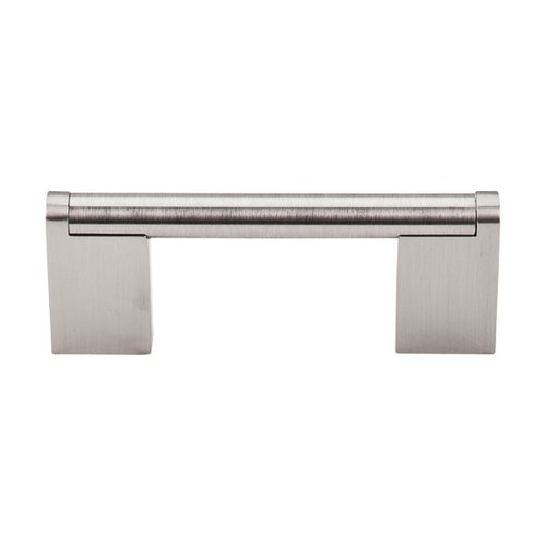 Bar Pull 3 Inch Center to Center Brushed Satin Nickel Cabinet Pull <small>(#M1040)</small>