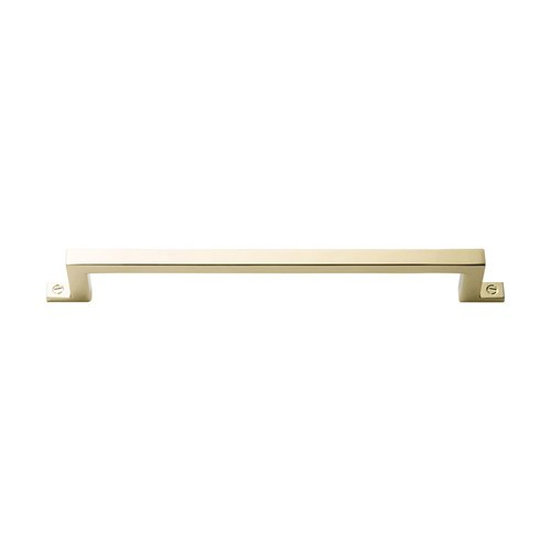 "Atlas Homewares Campaign Bar Pull 6-5/16"" C/C Polished Brass 387-PB"