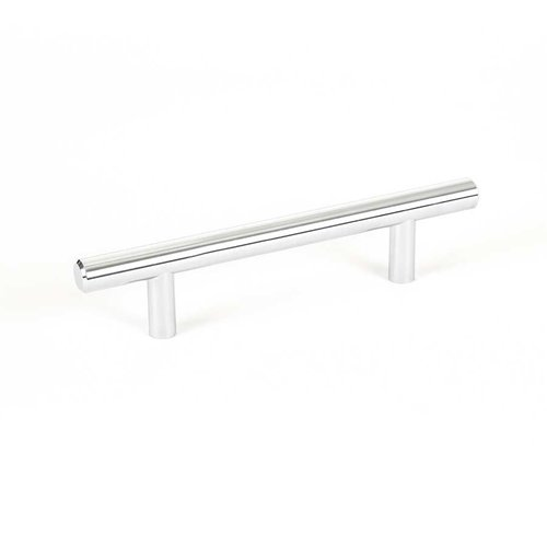 Tempo 3-3/4 Inch Center to Center Polished Chrome Cabinet Pull <small>(#2013-2026-P)</small>