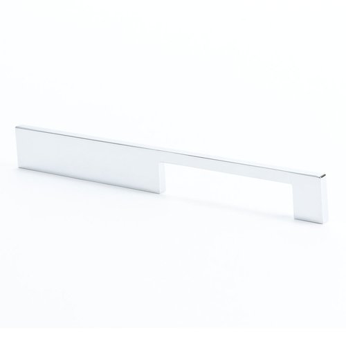 I-Spazio 7-9/16 Inch Center to Center Polished Chrome Cabinet Pull <small>(#9294-1026-C)</small>
