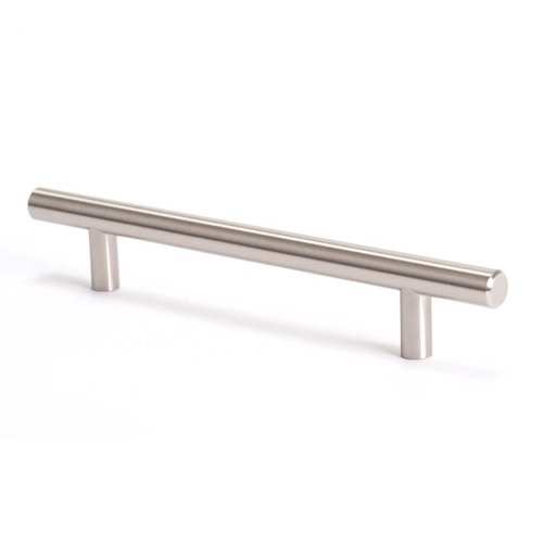 Berenson Advantage Plus 7 5-1/16 Inch Center to Center Brushed Nickel Cabinet Pull 9402-2BPN-P