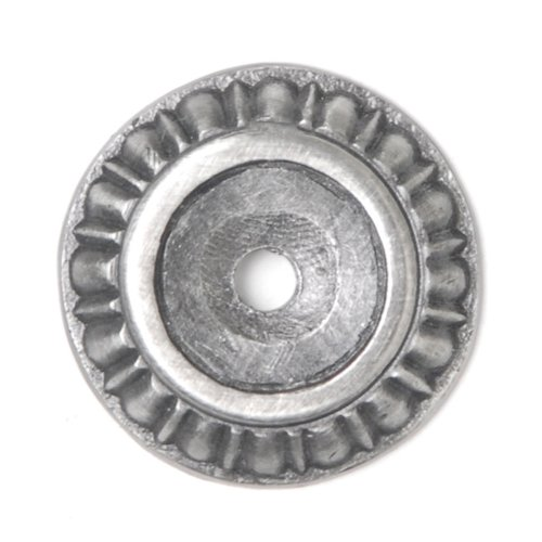 Notting Hill King's Road 1-1/8 Inch Diameter Antique Pewter Back-plate NHE-508-AP