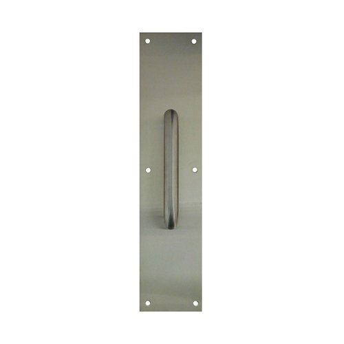 "Don-Jo 4"" X 16"" Pull Plate With 13"" Pull Satin Stainless 7121-630"