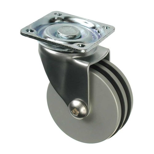 Richelieu Furniture Caster With Swivel - Aluminum 85024011201