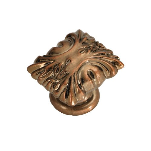 Hickory Hardware Ithica 1-5/16 Inch Length Antique Rose Gold Cabinet Knob P3430-ARG