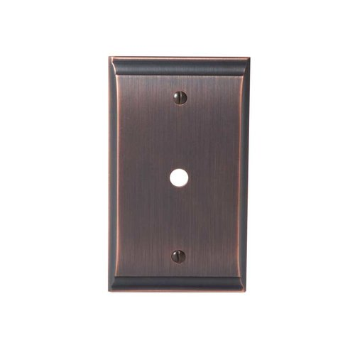 Amerock Candler One Cable Wall Plate Oil Rubbed Bronze BP36512ORB