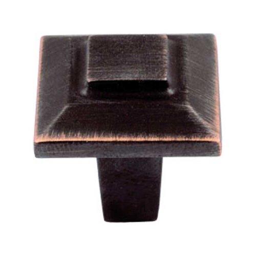 Atlas Homewares Trocadero 1 Inch Diameter Venetian Bronze Cabinet Knob 283-VB