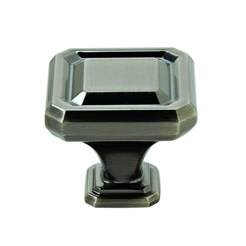"Amerock Wells Knob 1-1/2"" Dia Gunmetal BP36547GM"