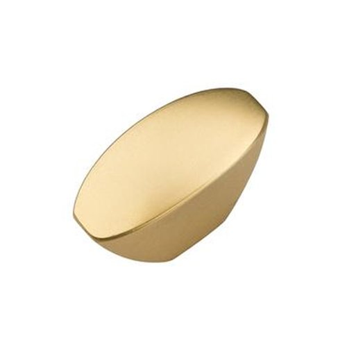 "Hickory Hardware Velocity Knob 1-7/16"" Dia Flat Ultra Brass HH074641-FUB"