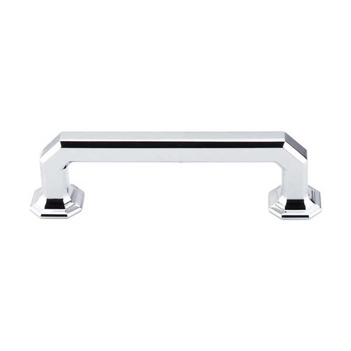 Chareau 3-3/4 Inch Center to Center Polished Chrome Cabinet Pull <small>(#TK287PC)</small>