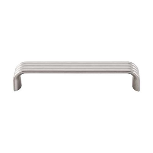 Top Knobs Sanctuary II 5 Inch Center to Center Brushed Satin Nickel Cabinet Pull TK263BSN