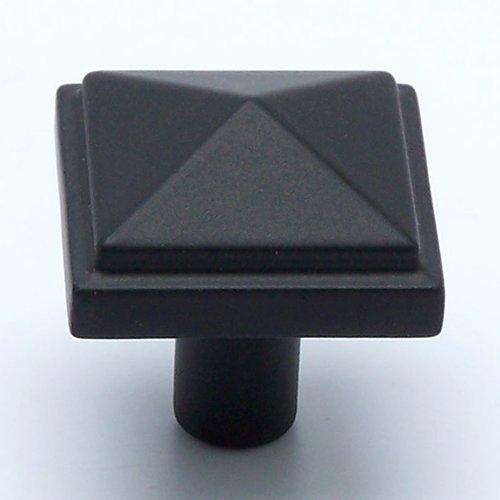 Berenson Rhapsody 1-3/16 Inch Diameter Satin Black Cabinet Knob 3049-155-P