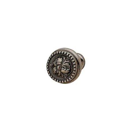 Hafele Artisan 1 Inch Diameter Pewter Cabinet Knob 125.86.930
